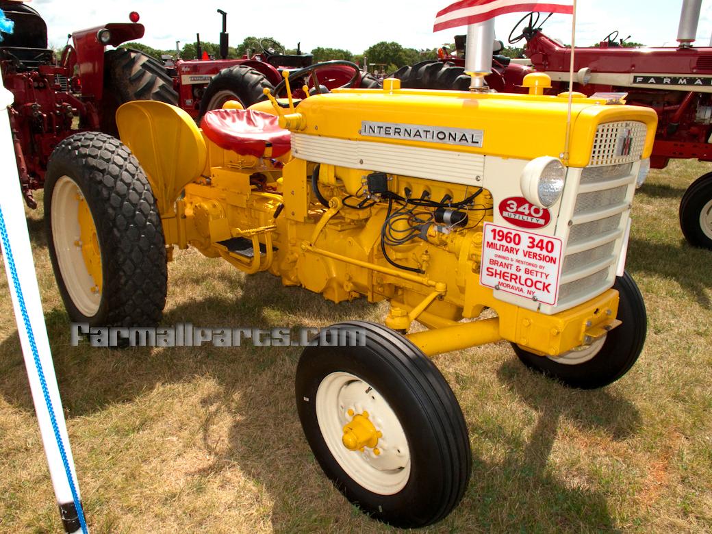 International 340 Utility Parts : Farmall parts international harvester tractor