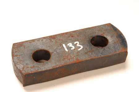 Shackle plate bracket