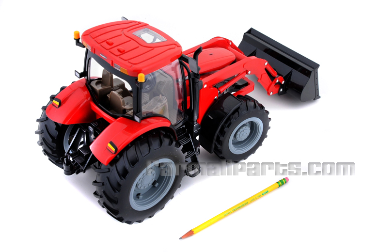 Toy Tractor with Loader 1/16th Scale, With Lights and Sound