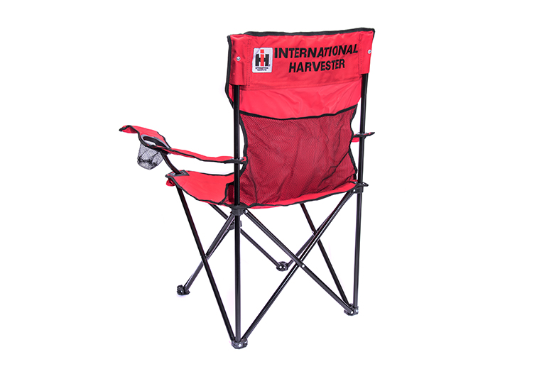 Adult Folding Camp Chair with IH Logo