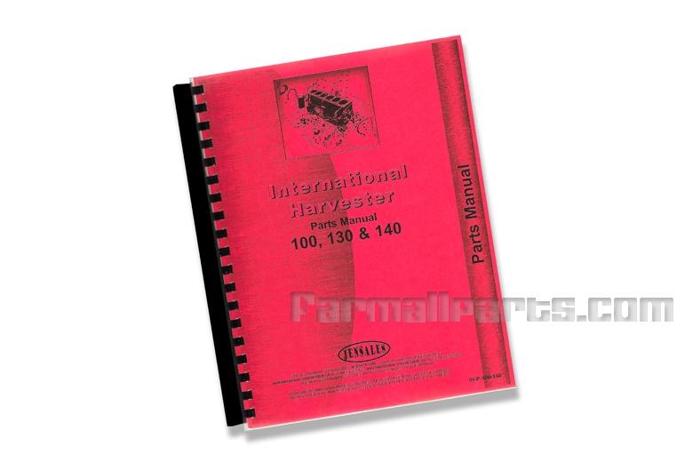 Parts Manual IH 100, 130, 140