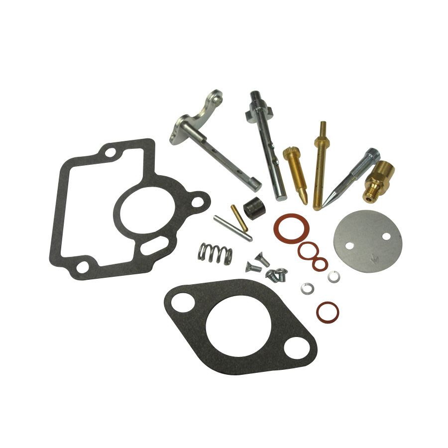 International Harvester Carburetor Kit Kit contains all parts necessary for major carburetor overhaul.