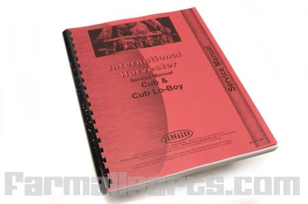 Service Manual IH Cub, Cub Lo-Boy