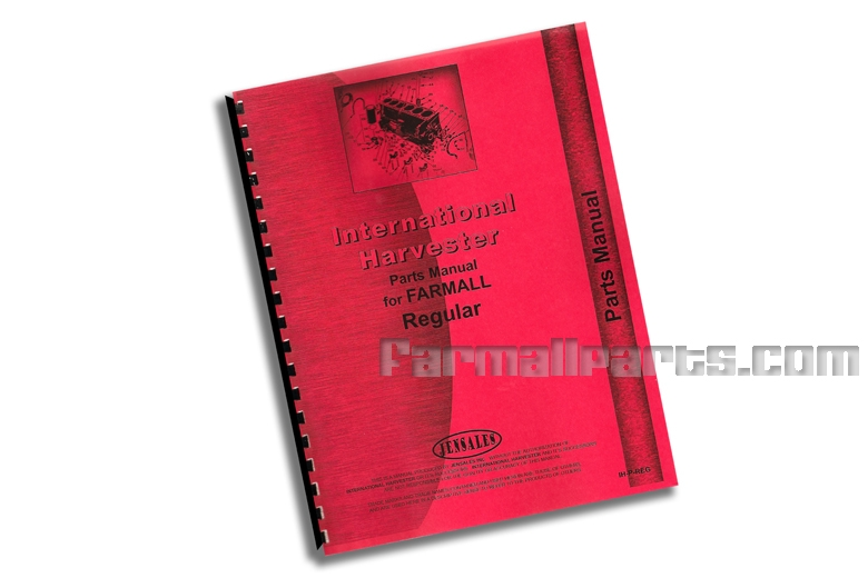 Parts Manual IH Farmall Regular