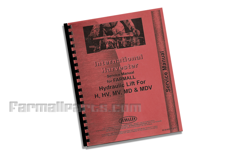 Service Manual Hydraulic Lift-All IH H, M