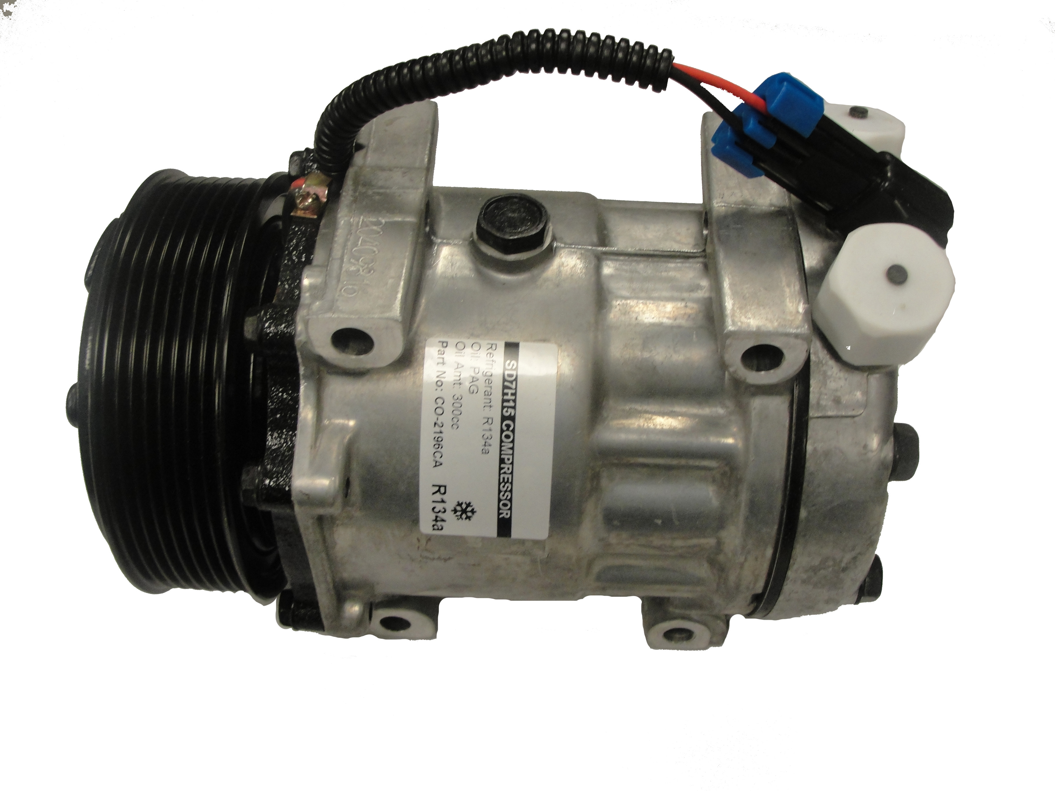 International Harvester Compressor Diameter: 4 3/4