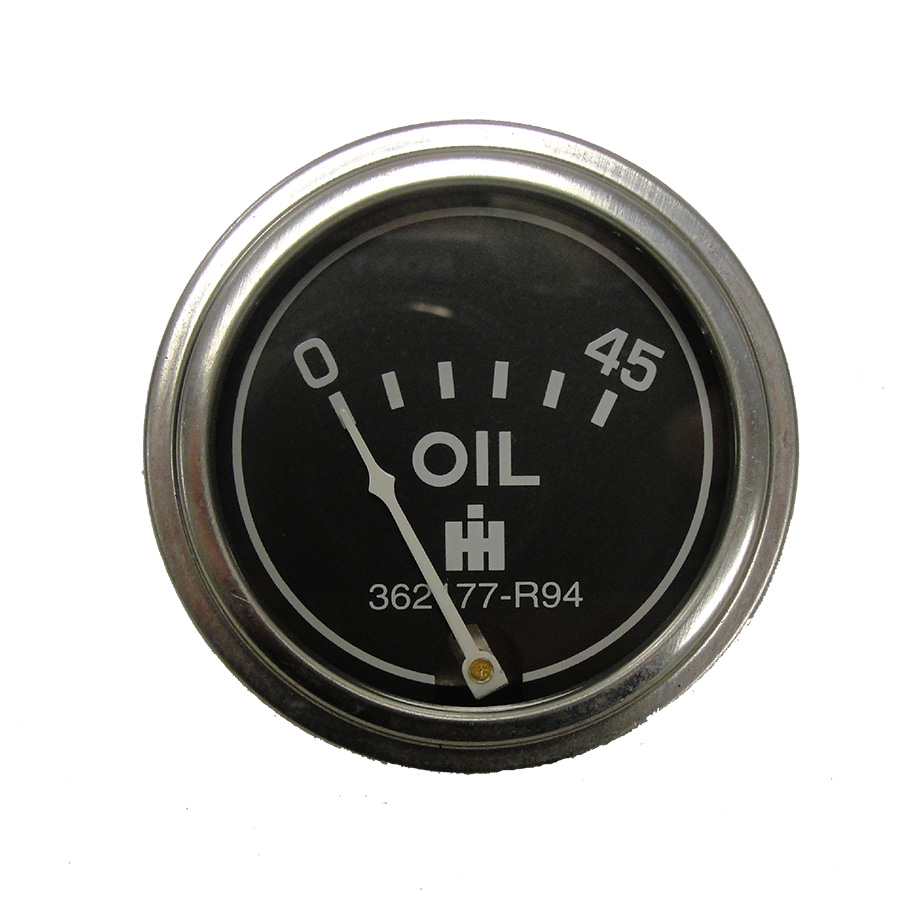 International Harvester Oil Pressure Gauge Oil pressure gauge for diesel and gas applications. 45lb