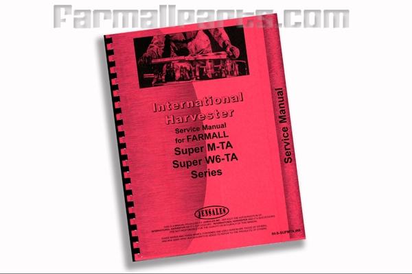 Service Manual IH Super MV, Super MTA, +