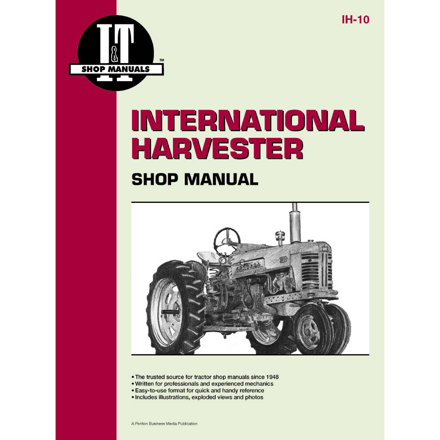 International Harvester Service Manual 80 Pages  Does Not