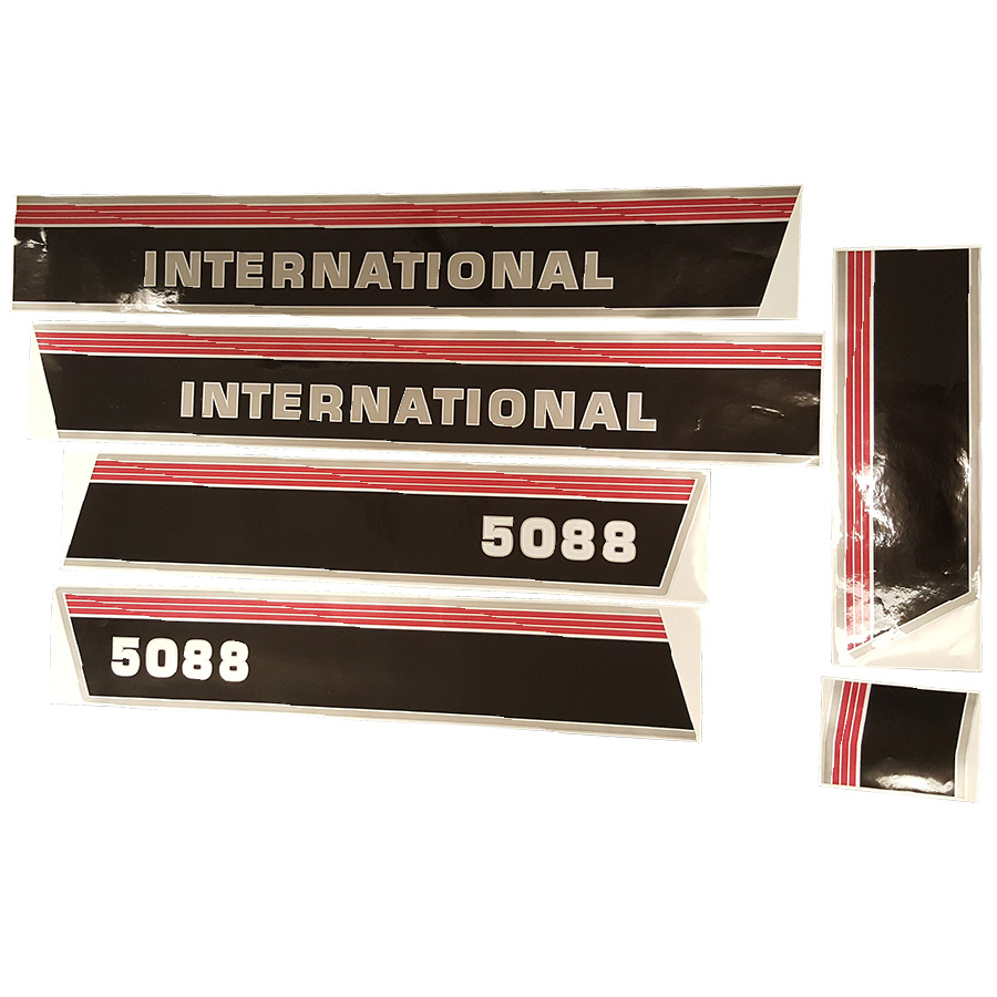 International Harvester Decals And Stickers : International harvester decal set hood