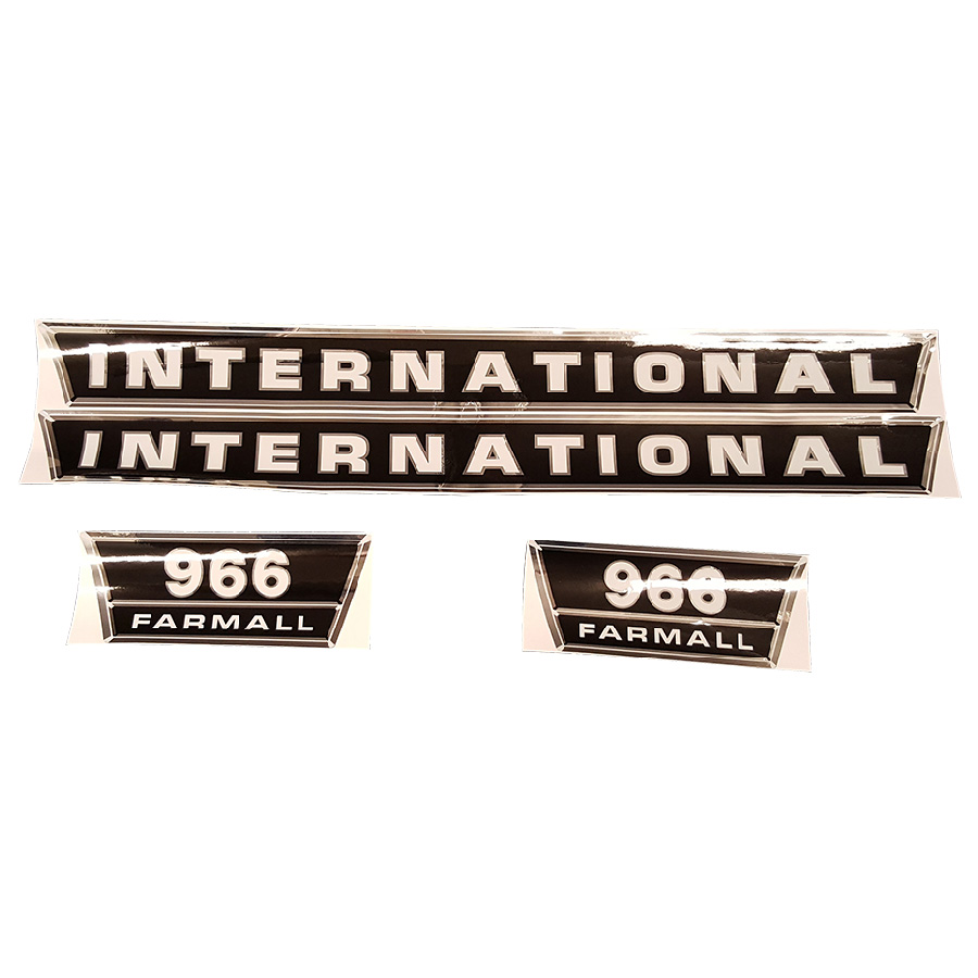 International Harvester Decal 966 Hood Kit
