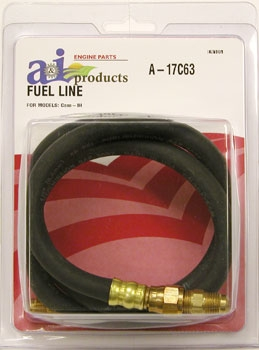 Flexible Fuel Line For IH 460, 560, 706, 806.