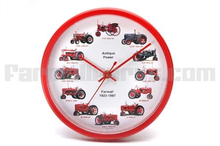 International Tractor Dial Clock