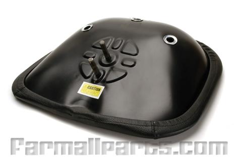 Universal Black Padded Seat -  two bolt