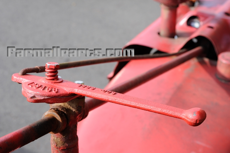 Farmall M Controls : Throttle gas lever m w style farmall h hv mv