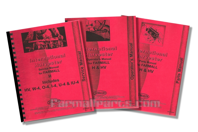 Manual Library - Farmall H