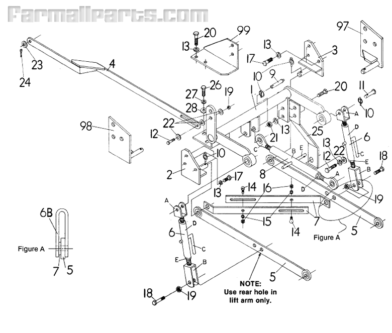 26763_237608 3 point hitch adapter cub cab miscellaneous farmall parts international 3488 wiring diagram at n-0.co