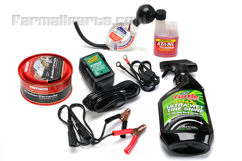 International Harvester Battery : Winterization kit includes float charger battery tender
