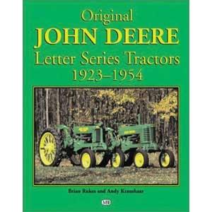 Book Original John Deere Letter Series 1923-1954