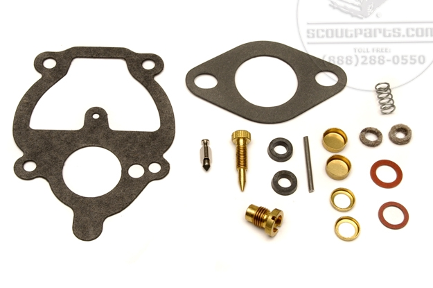 Carb rebuild kit for Farmall Super A, Super C, with carb #11704