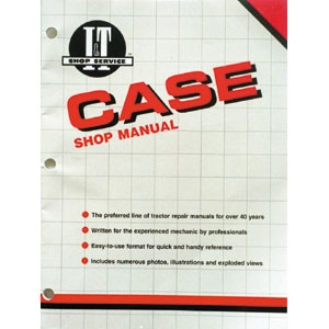 Shop Manual Case & David Brown 1190