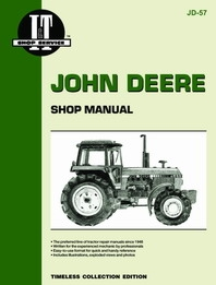 Shop Manual John Deere 4050,4250,4450
