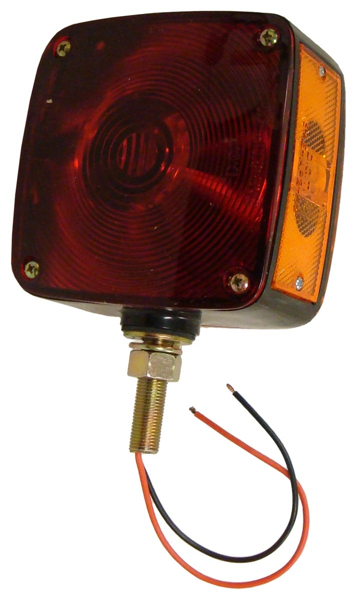 RECTANGULAR FENDER & CAB MOUNT WARNING LIGHT