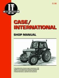 Case/International I&T Shop Service Manual C-36