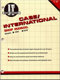 Case/International I&T Shop Service Manual C-38