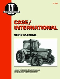 Case/International I&T Shop Service Manual C-40