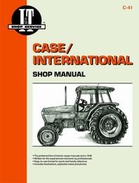 Case/International I&T Shop Service Manual C-41