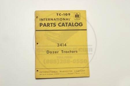 3414 Dozer Tractors  parts Catalog TC-109