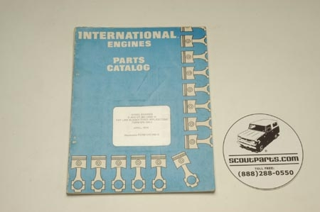 IH Engine parts Manual