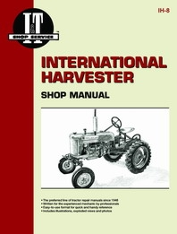 Shop Manual International A, B ,C, CUB