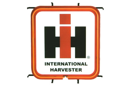 Sign Neon - International Harvester Lit Sign