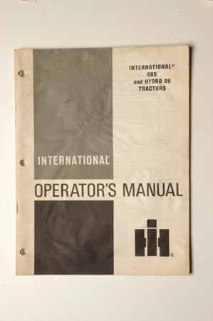 IHMANUAL 686 and hydro 88Tractors Operator's Manual