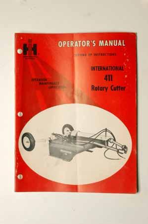 International 411 Rotary Cutter