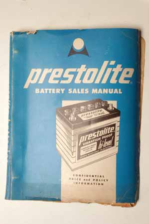 Prestolite Battery Sales Manual