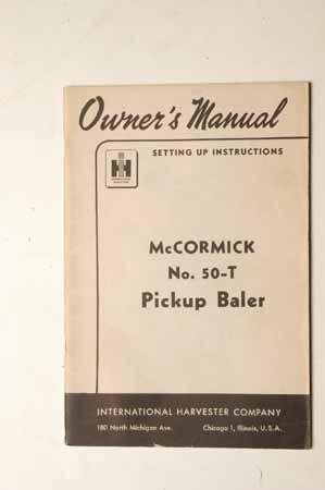 McCormick 50-T Pickup Baler