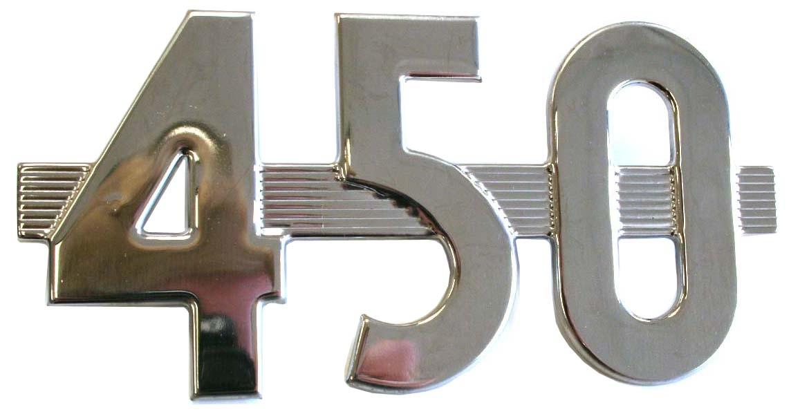 450 Side Emblem