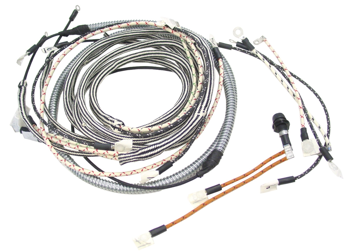 IHS480 farmall h, hv wiring harness wiring harnesses farmall parts Farmall 1206 Tractors On eBay at bayanpartner.co