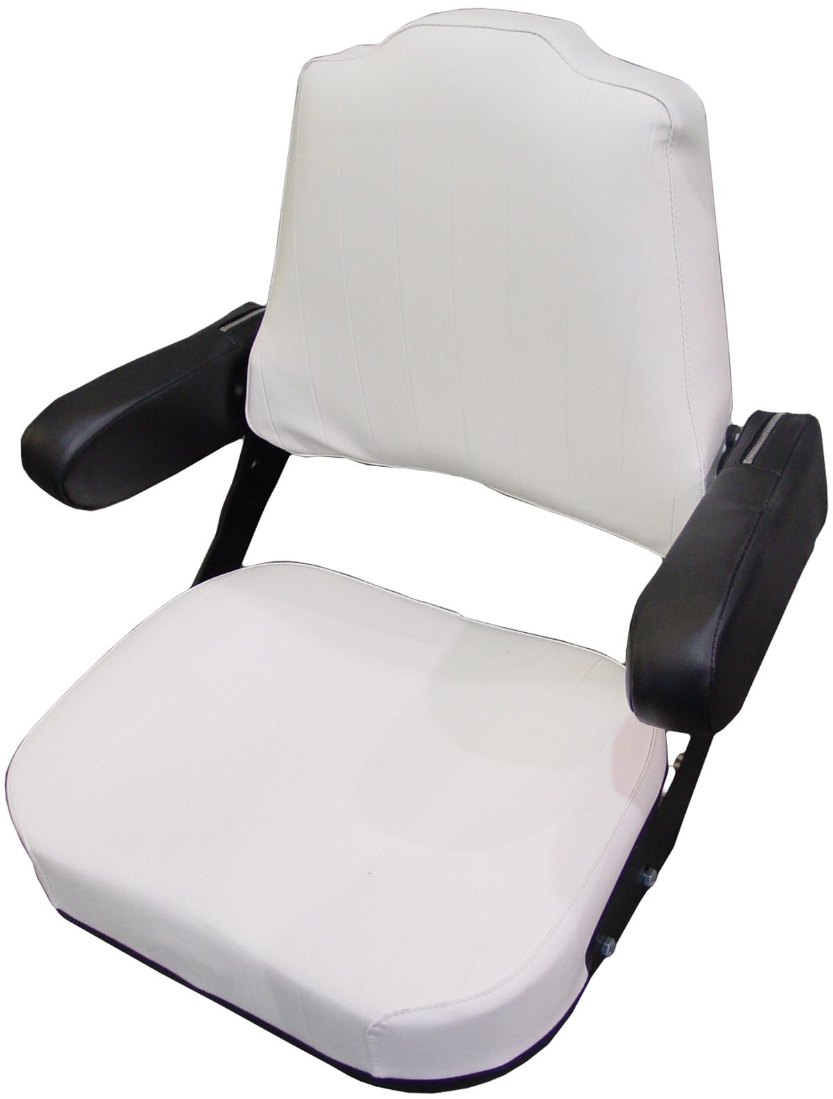 Metal Tractor Seat Replacement : Seat assembly with armrests restoration quality farmall