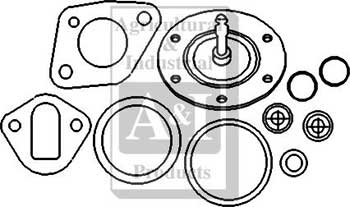 Repair Kit, Fuel Pump - Farmall 1190, 1194, 1200, 1210, 1212, 1290, 1294, 1390, 1394, 1410, 1412, 1490, 1494, 1594, 1690, 1694, 770, 880, 885, 990, 995, 996