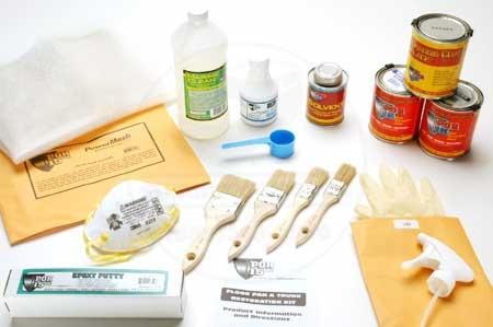 POR-15 Floorpan & Trunk Restoration Kit