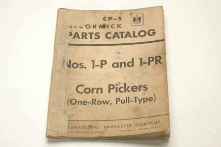 CP-5 Corn Pickers Parts Catalog