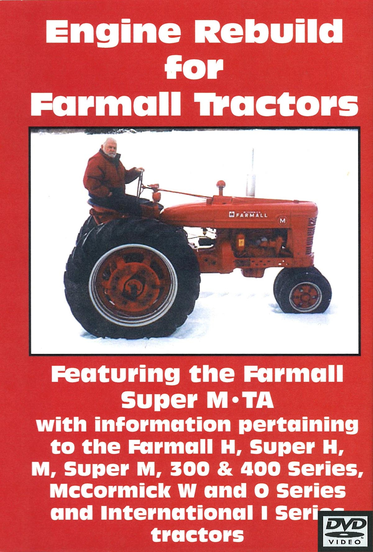 Farmall 300 Parts : Farmall m h  engine rebuild video dvd toys