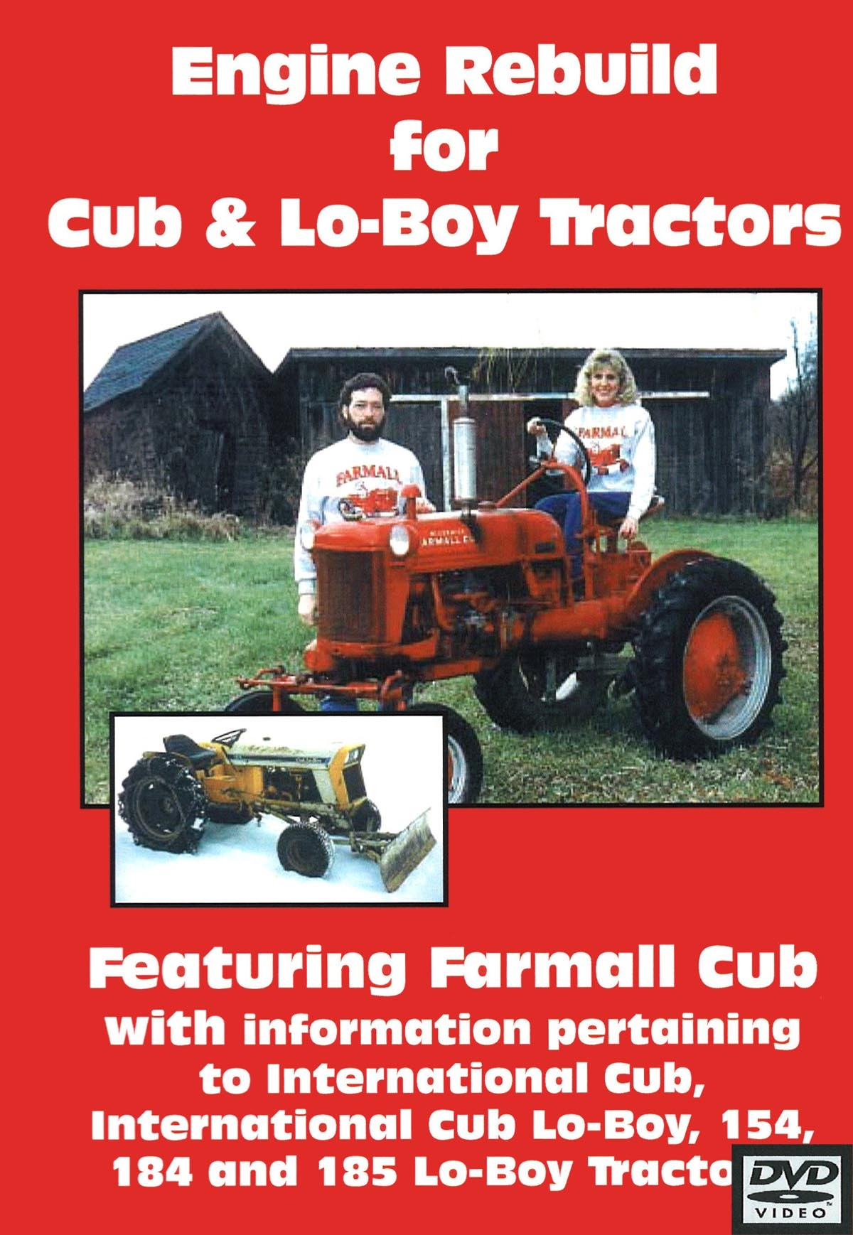 CUB & CUB LO-BOY  ENGINE REBUILD DVD