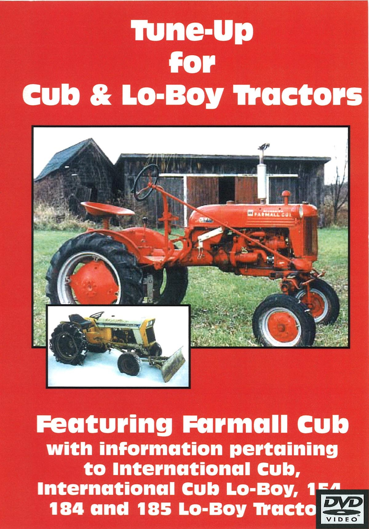 CUB & CUB LO-BOY TUNE UP VIDEO (DVD) - Farmall Cub