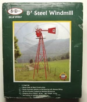 8 foot high windmill
