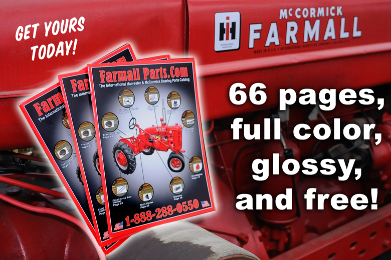 Catalog -Farmall Parts Catalog - 66 Pages of pure color glossy enjoyment